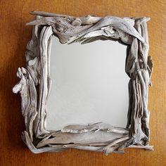 A driftwood frame