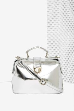 Star Child Patent Vegan Leather Bag