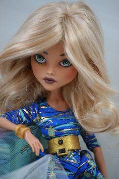 Monster High Cleo de Nile OOAK Repaint and re Wig | eBay