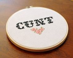 21 Delightfully Sweary Cross Stitches You Need In Your Life