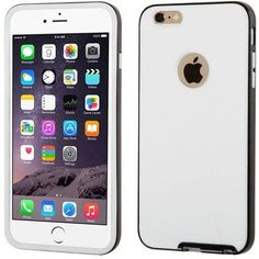 MYBAT Hybrid Candy Belly iPhone 6 Plus Case - Black/White