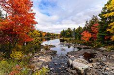 Autumn Colours at Sequin Falls