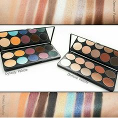 In love with these new palettes by motivea cosmetics!! Get yours at www.motivescosmetics.com/letmedoyourmakeup
