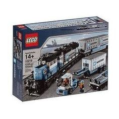 LEGO Creator Maersk Train 10219 (Discontinued by manufacturer) Lego Creator, The Creator, Lego Store, Buy Lego, Lego City, Building Toys, Legos, Fun, Trains