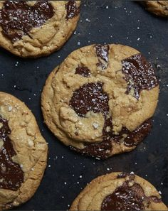 sea salted chocolate chip cookies