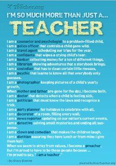 What's a teacher?