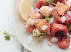 Denny Chef Blog: Insalata di pomodorini, pollo Tikka e bocconcini di mozzarella