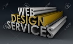 Web Design Services As A Concept In 3d Stock Photo, Picture And ...