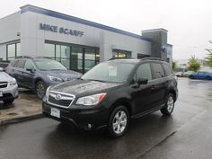 New 2015 Subaru Forester 2.5i Limited in Crystal Black Silica exterior color -   Auburn-Seattle WA | S15421