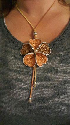Collana fiore livanto
