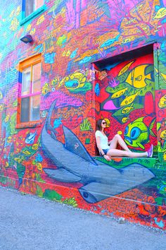 Exploring & enjoying the street art in Toronto | Twirl The…