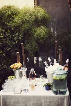 serving table // via nicole cari