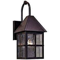 """Townsend Collection Solid Brass 14 1/2"""" High Outdoor Light"""