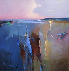 peter wileman painting | Winter Sun by Peter Wileman
