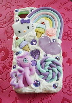 Inspired My Little Pony Decoden Case for iphone by Reneeroxxshop, $24.00