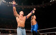 John Cena and Jerry The King Lawler Monday Night Raw 1/31/11