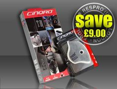 RESPRO® CINQRO™ MASK + URBAN FILTER COMBO PACK: save £9