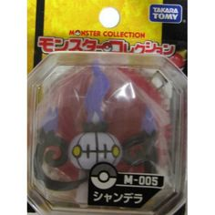 "Pokemon 2012 Chandelure Tomy 2"" Monster Collection Plastic Figure M-005"