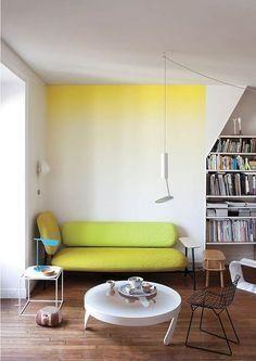 moda pintura arquietura degradê parede ombre casa tendência apartamento