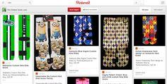 http://www.pinterest.com/thesickestsocks/authentic-nike-adult-custom-socks-and-kids/