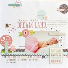 Dance Into Dream Land - Scrapbook.com