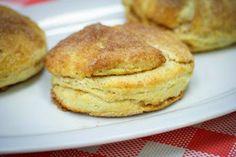 In The Kitchen With Honeyville: Cinnamon Swirl Buttermilk Biscuits