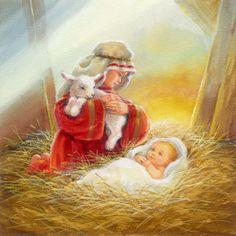 Christmas Nativity Scene, Merry Christmas Card, Christmas Scenes, Vintage Christmas Cards, Christmas Pictures, Christmas Art, Cute Christmas Wallpaper, Christmas Aesthetic, Illustrations
