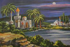 Corpus Christi, Reyes, Nativity, Backdrops, Backgrounds, Scene, Christmas, Painting, Art