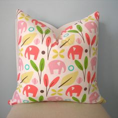 dwell studio for robert allen zooscape pillow | pillowplush etsy