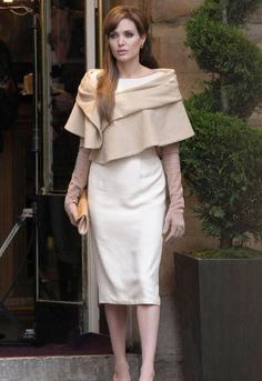 """I love this outfit, it was worn in the film """"The Tourist"""". Everything she wore in the film was stunning."""