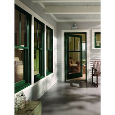 Look At These Gorgeous Green Trimmed Andersen 400 Series Windows We Re Proud To