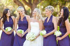 lilac bridesmaid and groom - 900×600