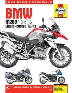 HAYNES BMW R1200 LIQUID-COOLED TWINS (13 – 16) MOTORCYCLE MANUAL #books #bmw #R1200
