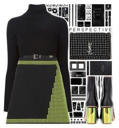 """🎧 Sorry To Myself"" by arierrefatir ❤ liked on Polyvore featuring Dsquared2, Christopher Kane, Acne Studios, Paper Mate, Yves Saint Laurent, Reviva Labs, Kenzoki, NARS Cosmetics, Avon and Tom Ford"