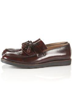 Topman Smart Shoes / House of Hounds Jones Hi Shine Loafers   http://tpmn.co/Qlr2hO