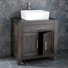 Freestanding 75cm Two Door Wenge Oak Vanity Cabinet Unit Basin Tap Set. This premier quality Cabinet Unit is handcrafted throughout from Solid Oak with Double Door Cabinet and, for a limited time FREE Single Counter Mounted Ceramic Washbasin, Mono Basin Mixer Tap and Waste. | eBay!