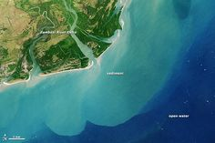 Zambezi River Delta/article on NASA Earth Observatory site on the river and delta area and it's effects on ecology.