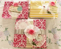 Living life creatively...: {Tutorial}Pretty Packages.