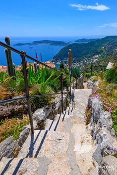 <br> A day trip to the charming village of Eze in the South of France with travel tips for local buses and taxis from Nice and Villefranche-sur-Mer. Eze France, South Of France, Provence France, Oh The Places You'll Go, Places To Travel, Places To Visit, France Photography, Travel Photography, Photography Poses