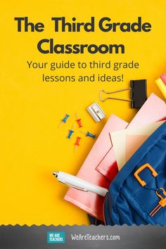 When it comes to third grade lessons, we've got you covered! Find all of your reading, writing, math, science, and social studies needs. #thirdgrade #teaching #teachers #classroom #science Middle School Teachers, Elementary Teacher, Math Teacher, Elementary Schools, Teaching Reading, Teaching Math, Social Studies Projects, English Tips, Third Grade