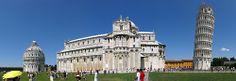 Pisa (Toscana) –  Piazza del Duomo (sec. XII) pano