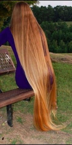 Mixture of blonde, brown, golden and red hairs! :- ) Mixture of blonde, brown, golde Long Red Hair, Long Natural Hair, Very Long Hair, Dark Hair, Brown Hair, Beautiful Long Hair, Gorgeous Hair, Rapunzel Hair, Hair Lengths