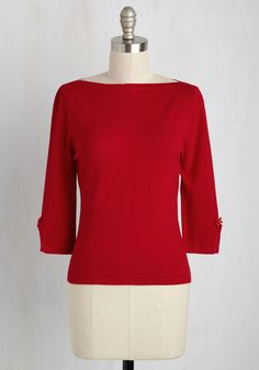 Up to Parisienne Top in Red