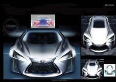 Lexus LF-FC Sketch 1