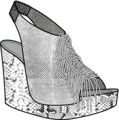 kym Shoe Illustration, Heeled Mules, Key, Heels, Beautiful, Fashion, Walk In Closet, Heel, Moda