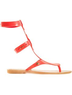 Vivienne Westwood Anglomania + Melissa 'Harmonic Gladiator Ii' Sandals Red 'Harmonic Gladiator II' sandals from Vivienne Westwood Anglomania + Melissa. Trovato su Styletorch