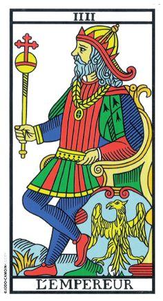 The Emperor - Tarot de Marseille (Camoin-Jodorowsky). Carta 4 ( O imperador) The Emperor Tarot, Le Bateleur, Tarot Significado, Les Runes, Le Tarot, Art Populaire, Tarot Major Arcana, Tarot Card Meanings, Art Graphique