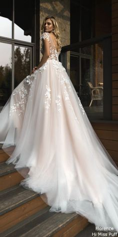 Wonderful Perfect Wedding Dress For The Bride Ideas. Ineffable Perfect Wedding Dress For The Bride Ideas. New Bridal Dresses, Wedding Dress Trends, Dream Wedding Dresses, Bridal Gowns, Bride Dresses, Lace Wedding, Wedding Bride, Event Dresses, Dress For Wedding