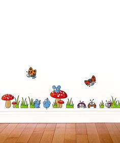 Take a look at this Mice & Ladybugs Wall Decal by LUDO on #zulily today!