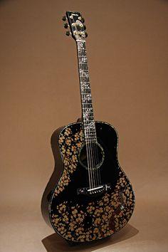 アコースティックギター YAMAHA(ヤマハ) LL66 Custom 夜桜蒔絵 2006
